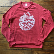 Men's Acadiana Self-Reliance Sweatshirt by Dirty Coast in Chelan WA