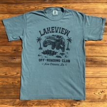 Men's Lakeview Off-Roading Club by Dirty Coast