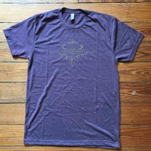Women's Laissez les Bon Temps Rouler (Purple) by Dirty Coast in Chelan WA