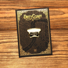 Brass Band Enamel Pin by Dirty Coast in Squamish BC