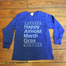 Happy Almost Mardi Gras Kids by Dirty Coast