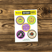 NOLA Merit Badges - Mardi Gras Sticker Sheet