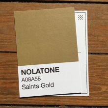 Nolatones Postcard - Saints Gold by Dirty Coast