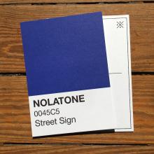 Nolatones Postcard - Street Sign by Dirty Coast