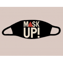Mask Up! Black Face Mask by Dirty Coast in Kissimmee FL