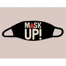Mask Up! Black Face Mask