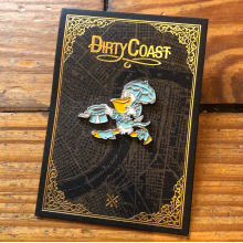 Seymour d'Faire Pin by Dirty Coast
