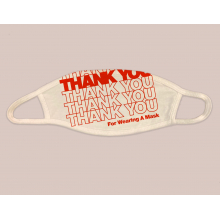 Thank You For Wearing a Face Mask by Dirty Coast