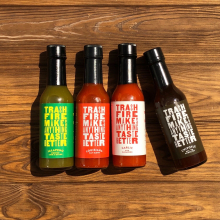 Trash Fire Hot Sauce by Dirty Coast