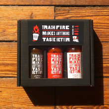 Triple Threat Hot Sauce Set by Dirty Coast in Miramar Beach FL