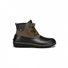 Men's Classic Casual Lace Leather