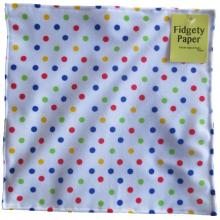 Fidgety Paper Polka Dot by Baby Paper