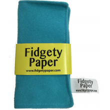Fidgety Paper-Turquoise by Baby Paper