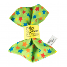 Green Stars by Baby Paper