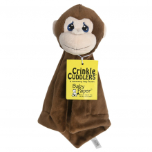 Monkey Crinkle Cuddler