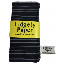 Pocket Fidget Paper-Blk/Gray