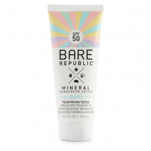Mineral Baby Lotion SPF50 Unscented