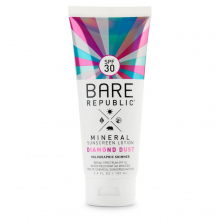 Mineral Sport SPF 30 Holographic Sunscreen lotion