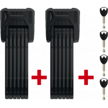 Folding Locks - Bordo Xplus Twinset 6500/85 Bk Sh Oe by Abus