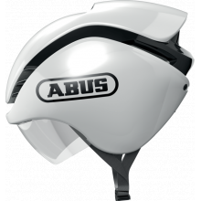 Road Helmets Gamechanger Tri - Shiny White - M by Abus in Squamish BC