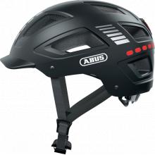 Urban Helmets Hyban 2.0 Led - Signal Black - L by Abus