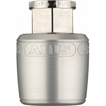 Wheel/Seat Post Locks Nutfix - Seatpost Clamp/Lock - 30.0 Diameter - Silver by Abus