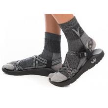 Dark Grey With Light Toe - Wool