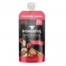 Powerful Straberry Banana Smoothie
