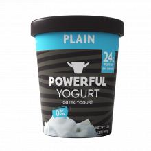 Powerful Yogurt Plain Non Fat 32oz