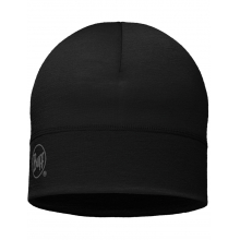 Lightweight Merino Wool Hat Black by Buff