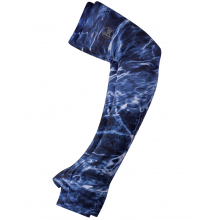 UV+ Coastal Arm Sleeves Mossy Oak Elements Navy L by Buff