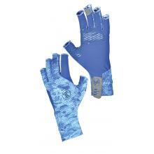 Aqua Glove Pelagic Camo Blue S by Buff in Loveland CO
