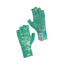 Aqua Glove Pelagic Camo Green L by Buff