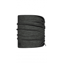 Merino Wool Fleece Neckwarmer Graphite