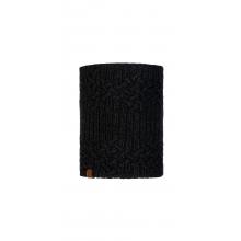 Knitted & Fleece Neckwarmer Helle Graphite