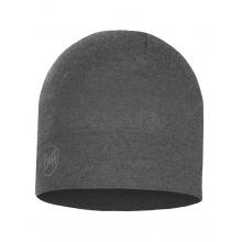 Midweight Merino Wool Hat Light Grey Melange