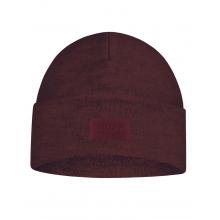 Merino Wool Fleece Hat Maroon
