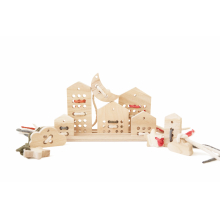 Lacing Toy Set Natural