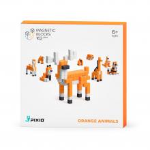 Orange Animals by Pixio