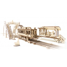 Mechanical Town Tram Line by UGears