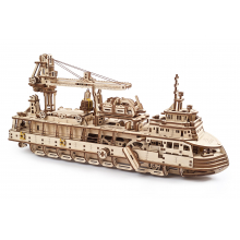Research Vessel by UGears