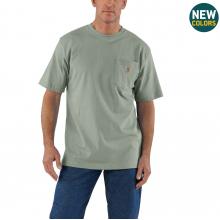 Men's Workwear Pkt SS TShrt MW Jersey Org Fit by Carhartt in Omak WA