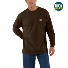 Long Sleeve Workwear Pocket T-Shirt by Carhartt