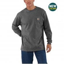 Men's Workwear Pkt LS T Shrt by Carhartt in Sheridan CO