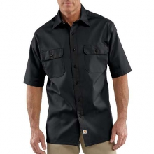 Short-Sleeve Twill Work Shirt by Carhartt
