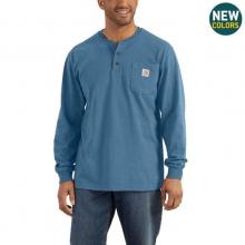 Men's Workwear Pkt LS Henley MW Jersey Org Fit