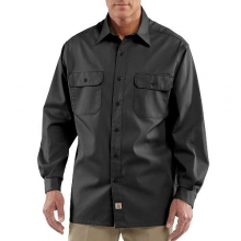 Long-Sleeve Twill Work Shirt by Carhartt