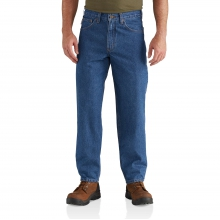 Relaxed-Fit Tapered-Leg Jean
