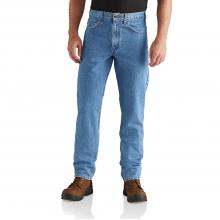 M Straight Fit Tapered Leg Jean