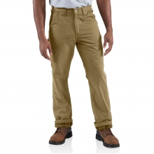 Washed-Twill Dungaree/Flannel Lined Pant by Carhartt